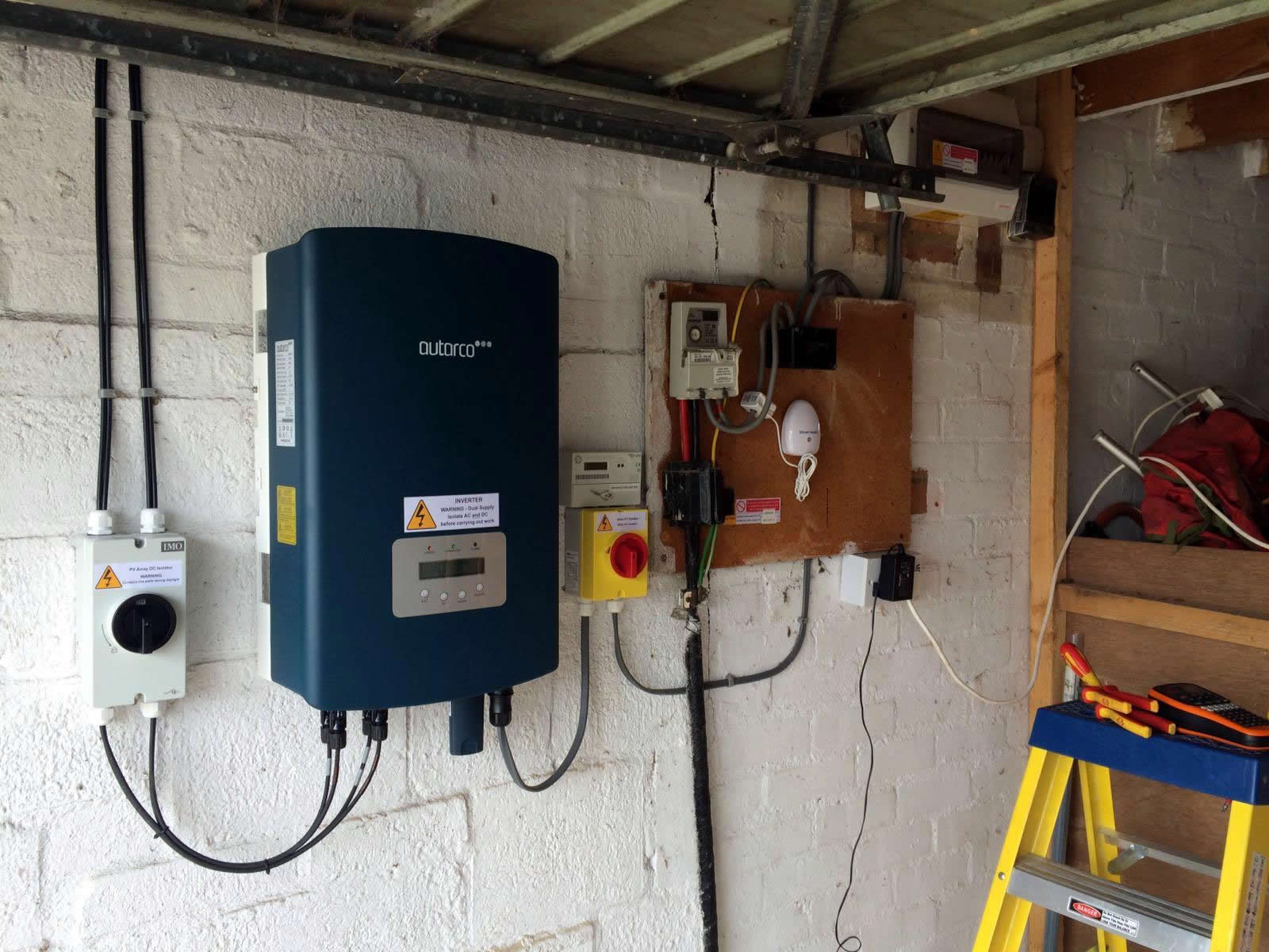 uk install in garage